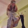 女子高生 片足吊り リモコンローター